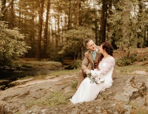 Bride-Groom-outside-photos-magnolia-stream-side-resort