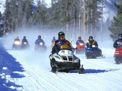 SnowmobilesYellowstone